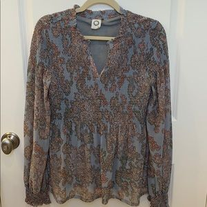 Anthropologie blouse size s